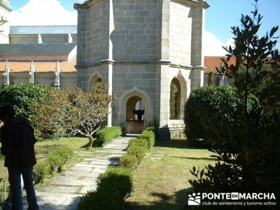 Monasterio de Santa María de El Paular; rutas de senderismo cerca de madrid;asociacion senderismo m